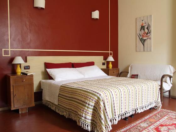 Le muse bed breakfast locri liliana - Camera da letto verde acqua ...